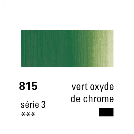SENNELIER HUILE EXTRA FINE 40ML S3 815 VERT OX CHR