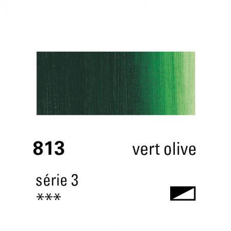 SENNELIER HUILE EXTRA FINE 40ML S3 813 VERT OLIVE