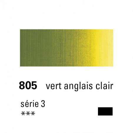 SENNELIER HUILE EXTRA FINE 40ML S3 805 VERT ANG CL