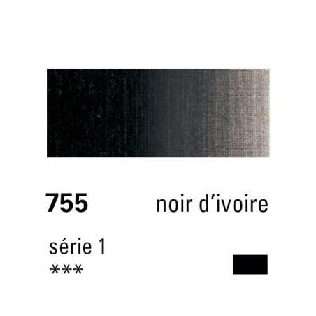 SENNELIER HUILE EXTRA FINE 40ML S1 755 NOIR IVOIRE