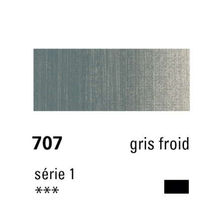 SENNELIER HUILE EXTRA FINE 40ML S1 707 GRIS FROID