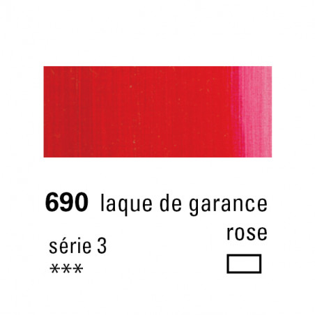SENNELIER HUILE EXTRA FINE 40ML S3 690 LAQUE GARANCE ROSE