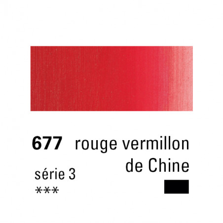 SENNELIER HUILE EXTRA FINE 40ML S3 677 RGE VERM CHI