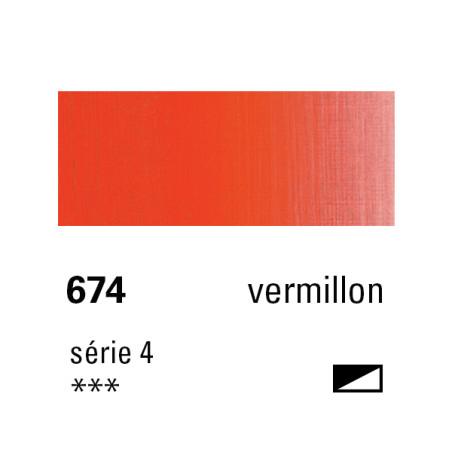 SENNELIER HUILE EXTRA FINE 40ML S4 674 VERMILLON