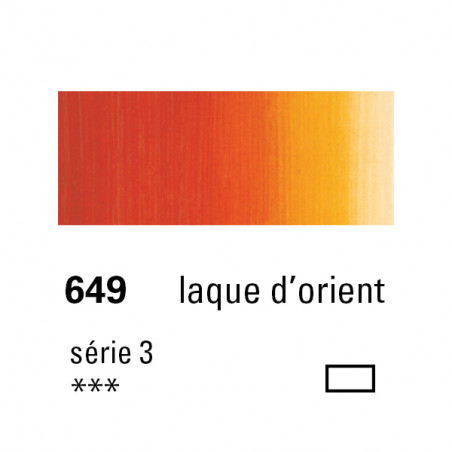 SENNELIER HUILE EXTRA FINE 40ML S3 649 LAQ ORIENT