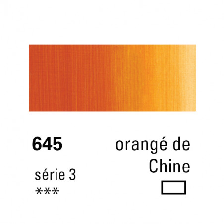 SENNELIER HUILE EXTRA FINE 40ML S3 645 ORANG CHINE