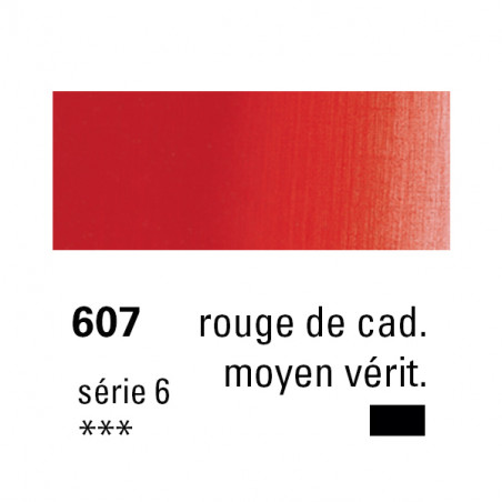 SENNELIER HUILE EXTRA FINE 40ML S6 607 RGE CAD MOY VERIT