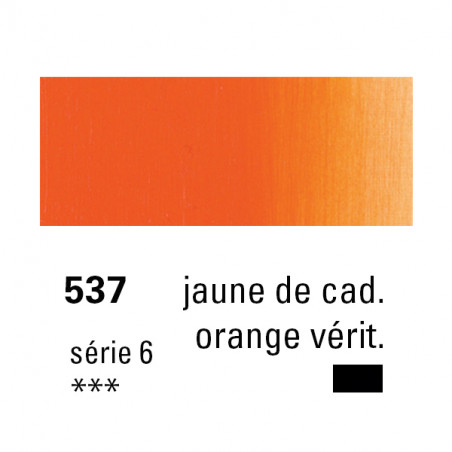 SENNELIER HUILE EXTRA FINE 40ML S6 537 JNE CAD ORG VERIT