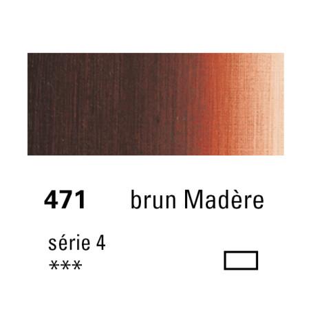 SENNELIER HUILE EXTRA FINE 40ML S4 471 BRUN MAD