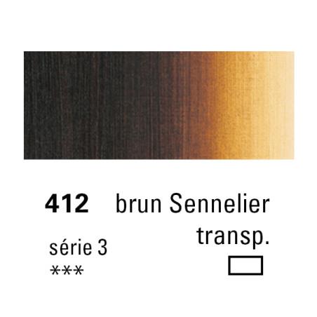 SENNELIER HUILE EXTRA FINE 40ML S3 412 BRUN SENN TR.