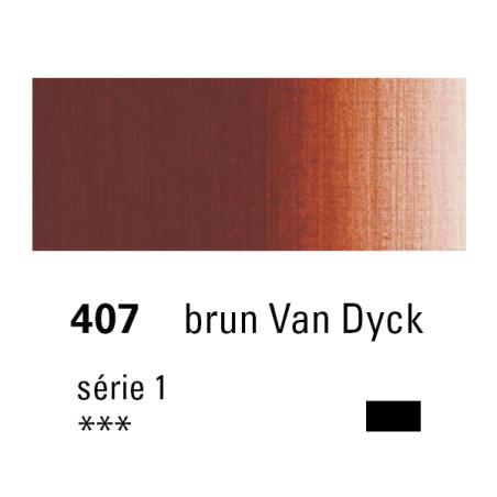 SENNELIER HUILE EXTRA FINE 40ML S1 407 BRUN VDYCK