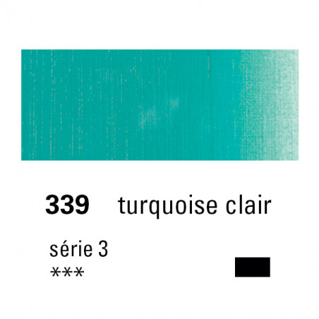 SENNELIER HUILE EXTRA FINE 40ML S3 339 TURQUOISE CLAIR