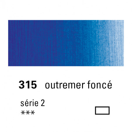 SENNELIER HUILE EXTRA FINE 40ML S2 315 OUTREMER FONCE
