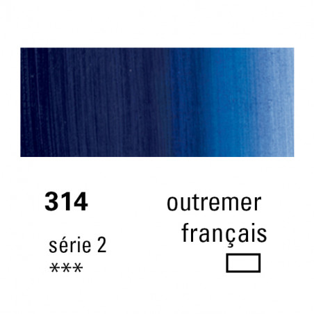 SENNELIER HUILE EXTRA FINE 40ML S2 314 OUTREMER FRANCAIS