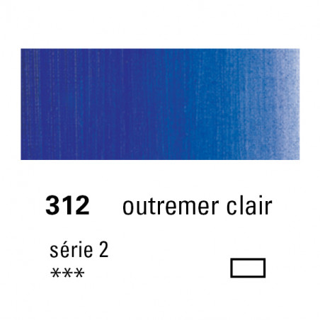 SENNELIER HUILE EXTRA FINE 40ML S2 312 OUTREMER CLAIR