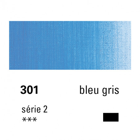 SENNELIER HUILE EXTRA FINE 40ML S2 301 BLEU GRIS
