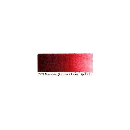 OLD HOLLAND HUILE 60ML C 28 LAQUE GARANCE CRAMOISIE FONCE