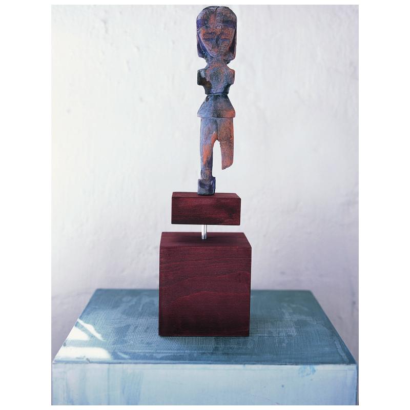 Tige métallique pour socle de sculpture