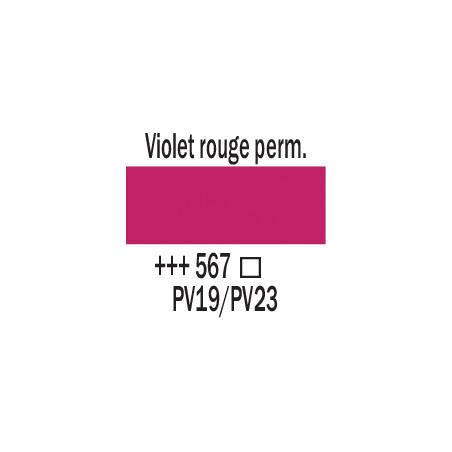 AMSTERDAM ACRYLIQUE 250ML 567 VIOLET RGE PERM