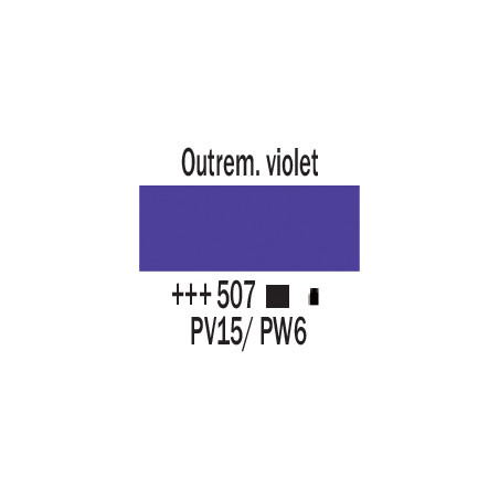 AMSTERDAM ACRYLIQUE 250ML 507 OUTREMER VIOLET