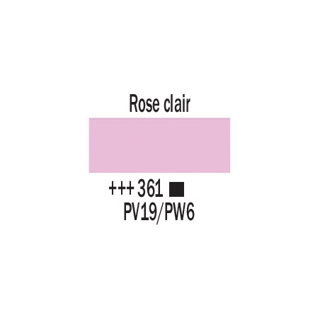 AMSTERDAM ACRYLIQUE 250ML 361 ROSE CLAIR