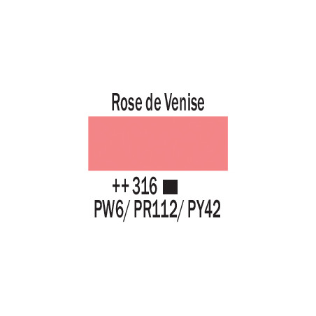 AMSTERDAM ACRYLIQUE 250ML 316 ROSE VENISE