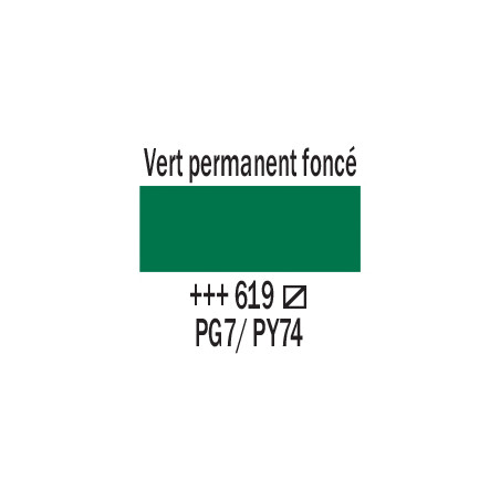 AMSTERDAM ACRYLIQUE 250ML 619 VERT PERM FC