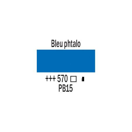 AMSTERDAM ACRYLIQUE 250ML 570 BLEU PHTALO