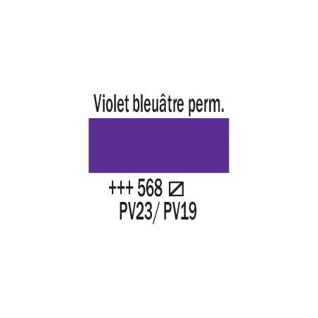 AMSTERDAM ACRYLIQUE 250ML 568 VIOLET BLEU PERM
