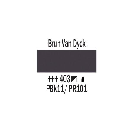 AMSTERDAM ACRYLIQUE 250ML 403 BRUN VANDYCK