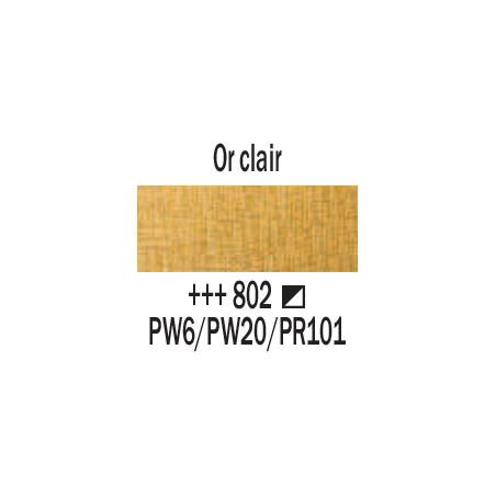 AMSTERDAM ACRYLIQUE 120ML 802 OR CLAIR