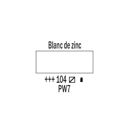 AMSTERDAM ACRYLIQUE 120ML 104 BLANC DE ZINC