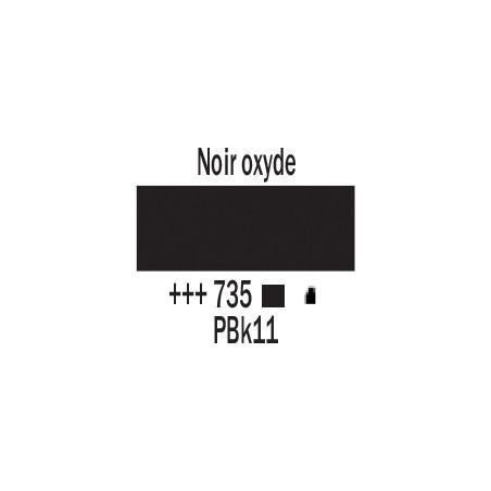 AMSTERDAM ACRYLIQUE 120ML 735 NOIR OXYDE