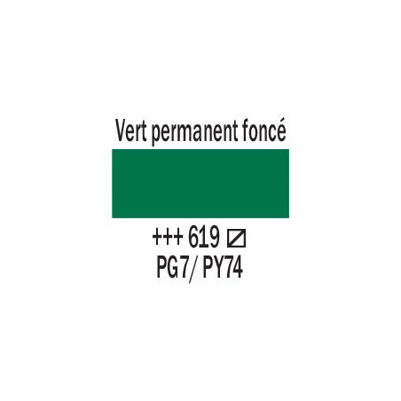 AMSTERDAM ACRYLIQUE 120ML 619 VERT PERM FC