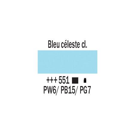AMSTERDAM ACRYLIQUE 500ML 551 BLEU CELESTE CL