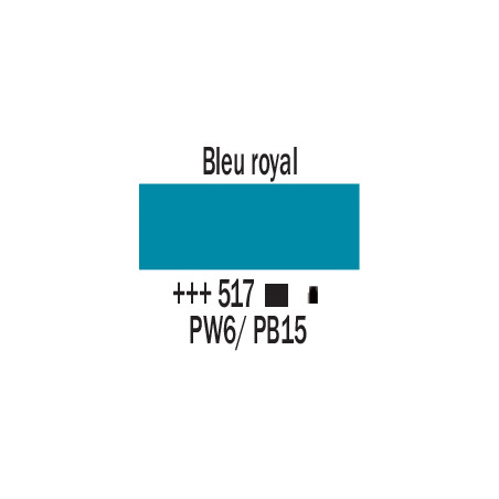 AMSTERDAM ACRYLIQUE 500ML 517 BLEU ROYAL