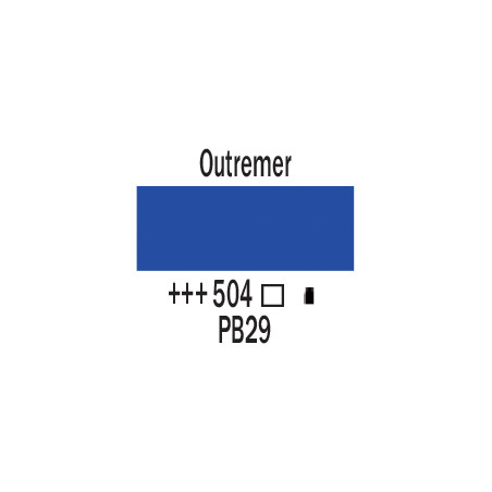 AMSTERDAM ACRYLIQUE 120ML 504 OUTREMER