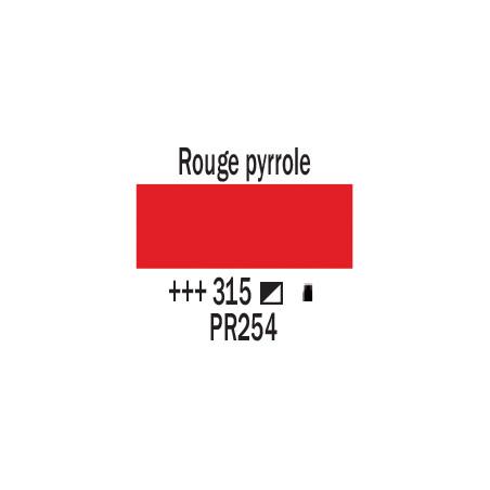 AMSTERDAM ACRYLIQUE 500ML 315 ROUGE PYRROLE