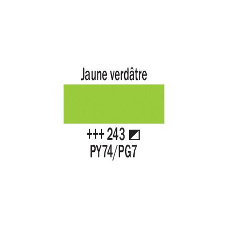 AMSTERDAM ACRYLIQUE 500ML 243 JAUNE VERDATRE