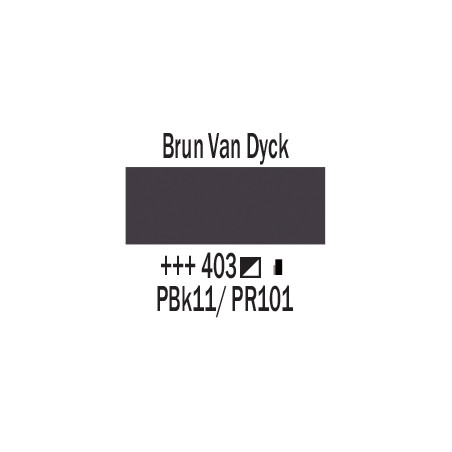 AMSTERDAM ACRYLIQUE 120ML 403 BRUN VANDYCK