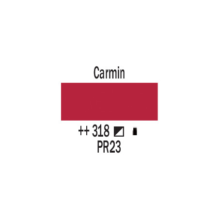 AMSTERDAM ACRYLIQUE 120ML 318 CARMIN