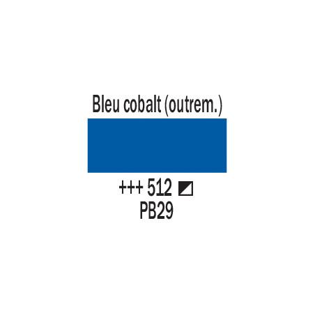 AMSTERDAM ACRYLIQUE 500ML 512 BLEU COBALT