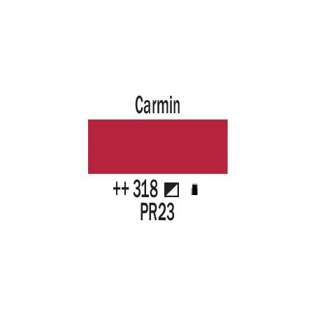 AMSTERDAM ACRYLIQUE 500ML 318 CARMIN