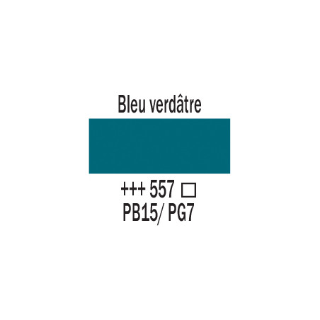 AMSTERDAM ACRYLIQUE 500ML 557 BLEU VERDATRE