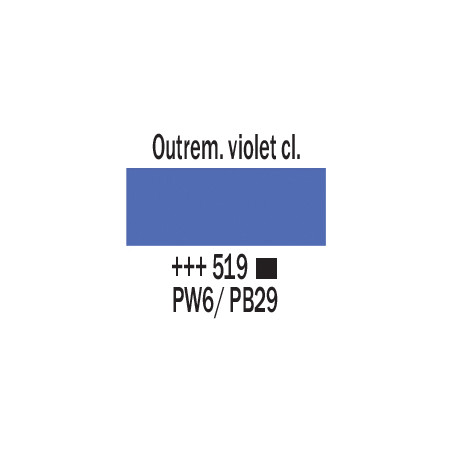 AMSTERDAM ACRYLIQUE 500ML 519 OUTREMER VIOL CL