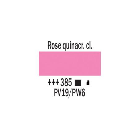 AMSTERDAM ACRYLIQUE 1L 385 ROSE QUINACRIDONE CLAIR