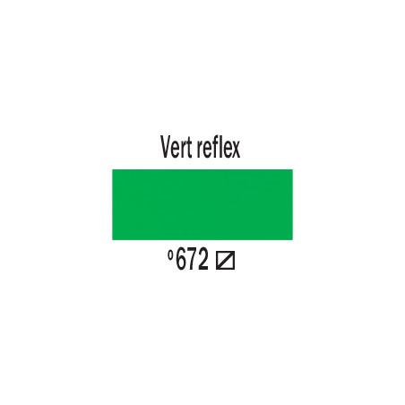 AMSTERDAM ACRYLIQUE 120ML 672 VERT FLUO