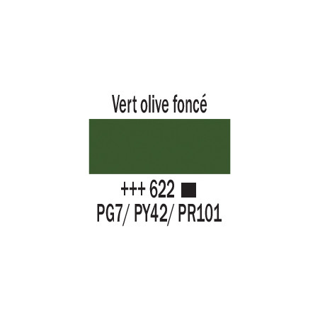 AMSTERDAM ACRYLIQUE 120ML 622 VERT OLIVE FC