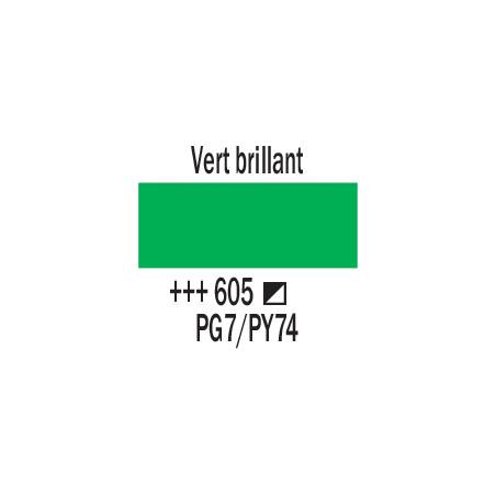 AMSTERDAM ACRYLIQUE 120ML 605 VERT BRILLANT