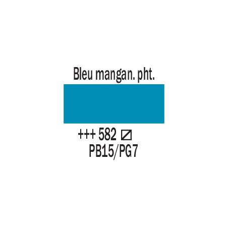 AMSTERDAM ACRYLIQUE 120ML 582 BLEU MANGA PHT